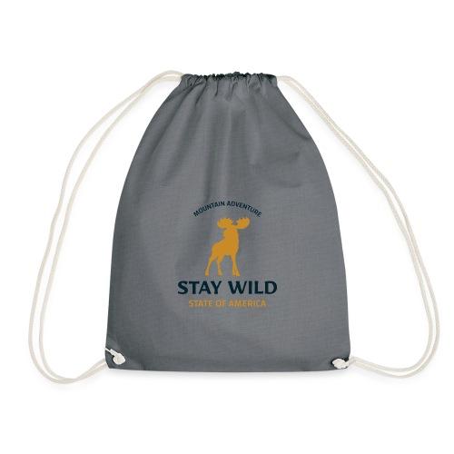 Stay Wild - Turnbeutel