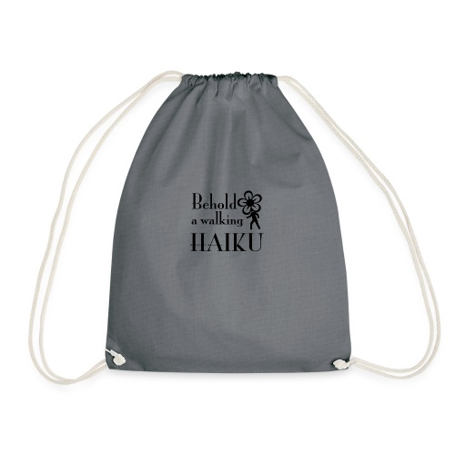 Haiku.png - Drawstring Bag
