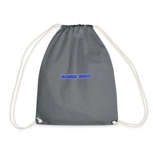 Power Text logo - Drawstring Bag