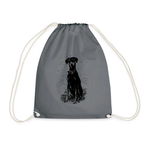 Dobermann Hunde - Turnbeutel