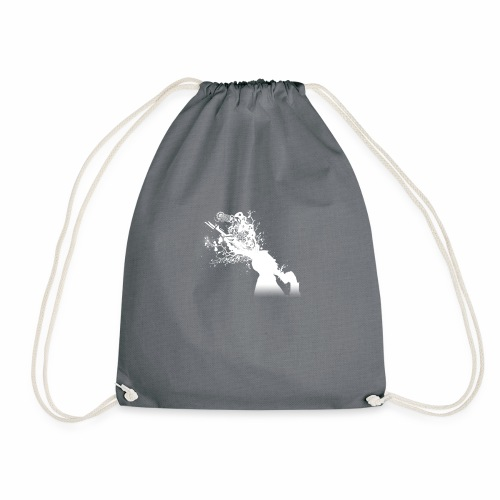 Delusional Games logo - Drawstring Bag