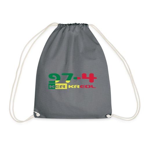Logo 974 ker kreol VJR, rastafari - Sac de sport léger
