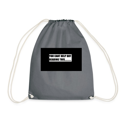Cant resist reading - Drawstring Bag