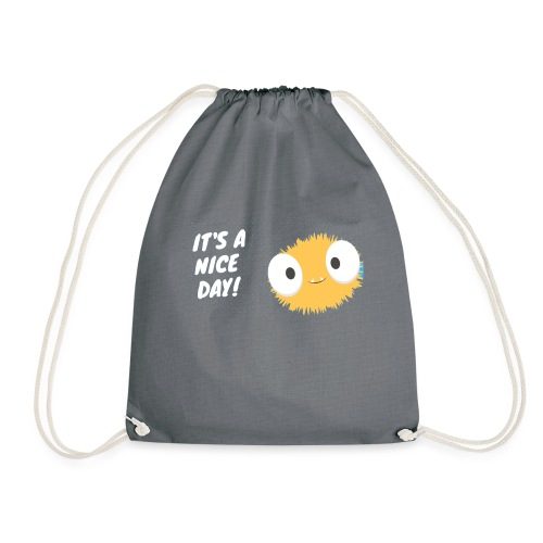 It´s a nice day - Drawstring Bag
