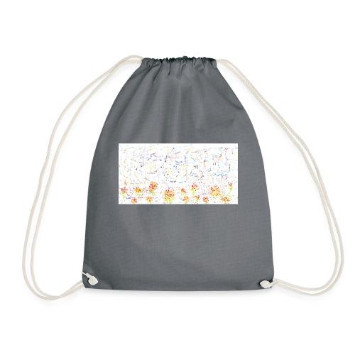 flores - Mochila saco