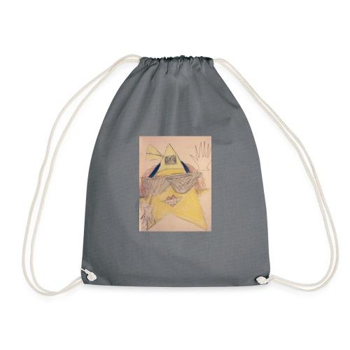cool jamican star - Drawstring Bag