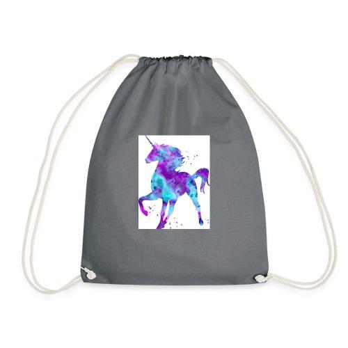 Kids shirt unicorn cooper - Drawstring Bag