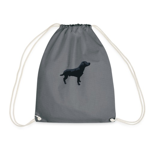 Labrador stehend - Turnbeutel