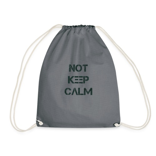 Not Keep Calm black - Sac de sport léger