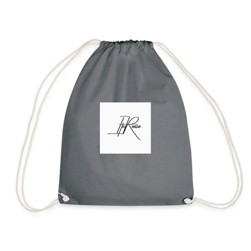 Small logo white bg - Drawstring Bag