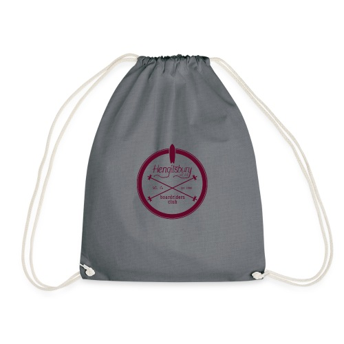 Hengitsbury Head Boardriders Club - Drawstring Bag