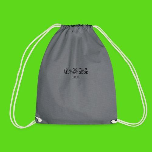 All That Good Stuff - Drawstring Bag