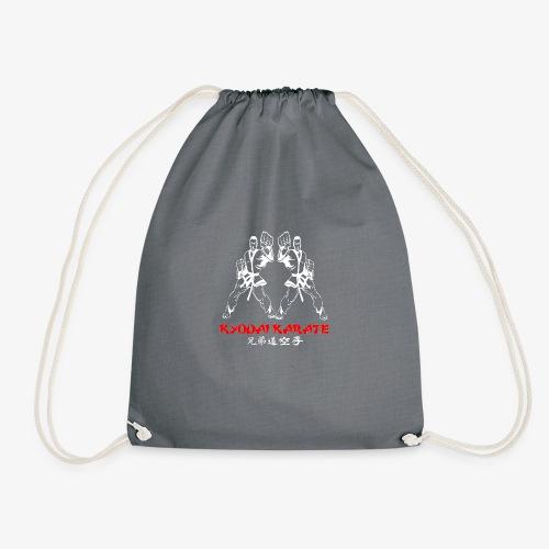 kydai club badge on Black - Drawstring Bag