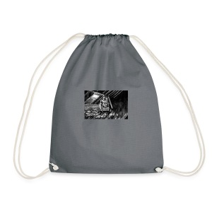Bex Hiding From Zombies - Drawstring Bag