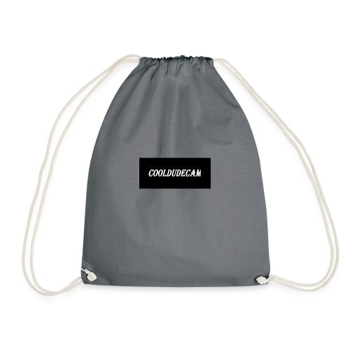 my cooldudecam murch - Drawstring Bag