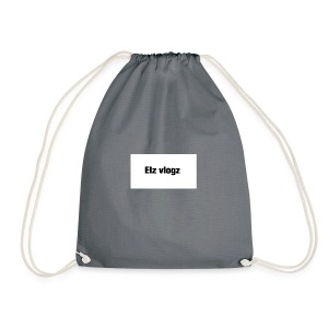 Elz vlogz merch - Drawstring Bag