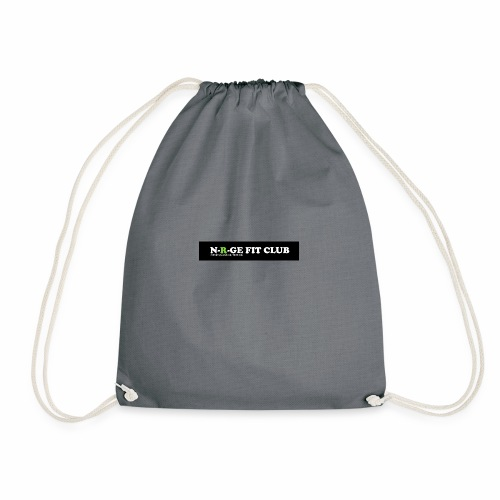 N-R-GE FIT CLUB LOGO - Drawstring Bag