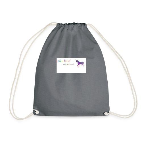 unicorn squad - Drawstring Bag