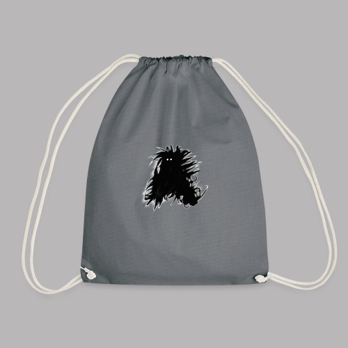 Alan at Attention - Drawstring Bag