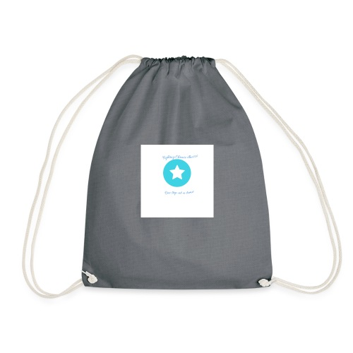 Fighting chronic illnesses one step at a time - Drawstring Bag