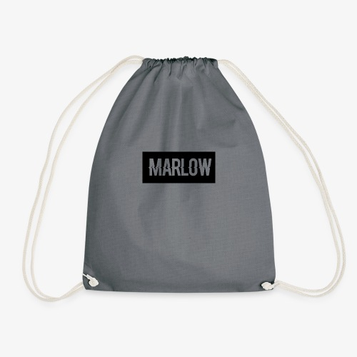 MARLOW Box Logo - Drawstring Bag