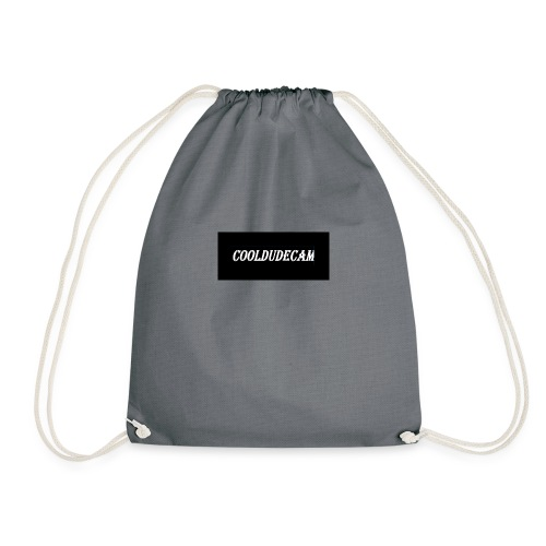 my cooldudecam murch - Drawstring Bag