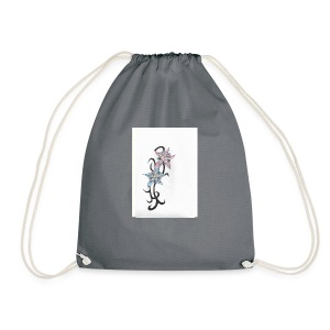 flower design - Drawstring Bag