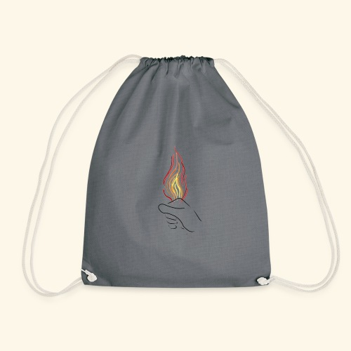 Flame - Drawstring Bag