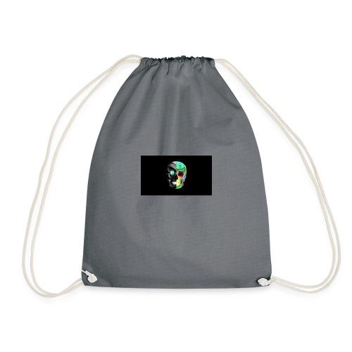 skeleton official logo - Drawstring Bag