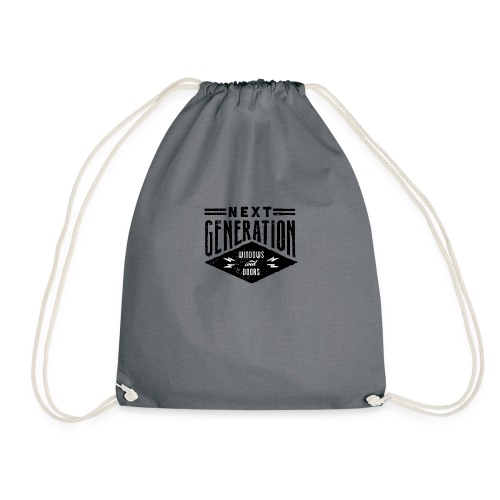 Diseño vintage Next Generation - Drawstring Bag