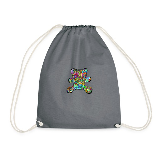 Have a colorful hug - Drawstring Bag