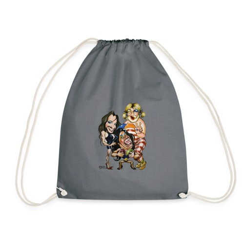 Las Fellini - Drawstring Bag