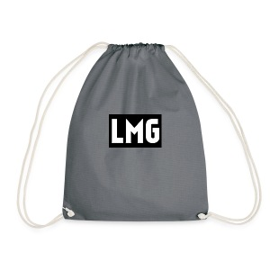 Plain white tee - Drawstring Bag