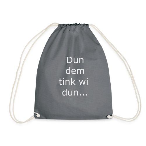 Dun ? - Drawstring Bag