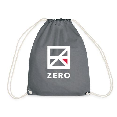 Zero logo wit cmyk - Gymtas