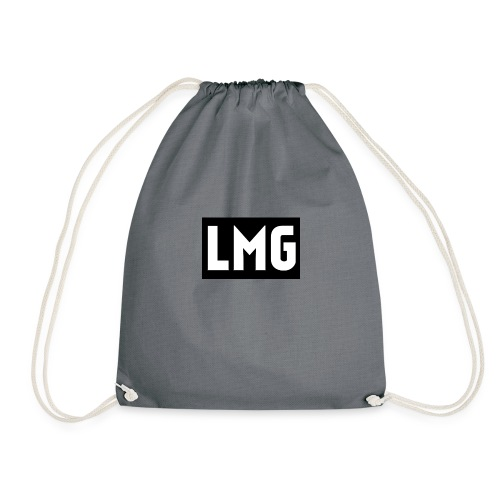 Plain white tee - Drawstring Bag