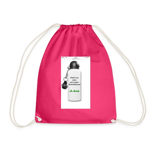 RocksAndSand adventure bottle - Drawstring Bag