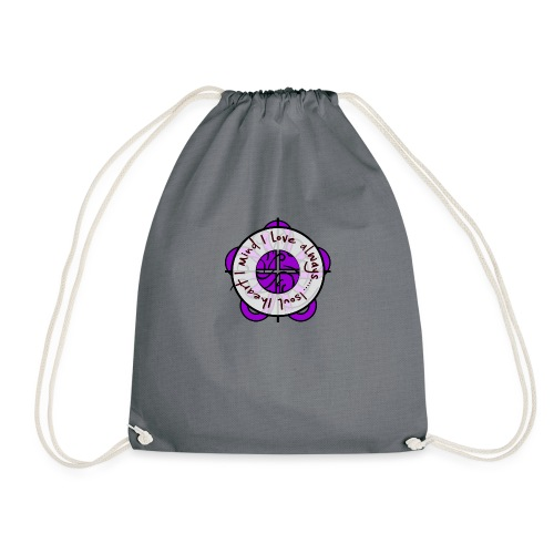 one heart - Drawstring Bag