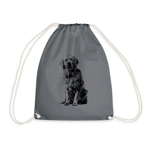 Golden Retriever - Hunde Geschenkidee - Turnbeutel