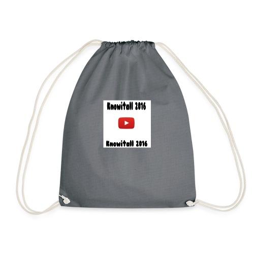 Knowitall 2016 Custom design - Drawstring Bag