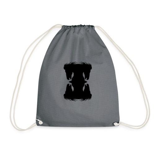 Cheval cabré en ombres chinoise - Sac de sport léger