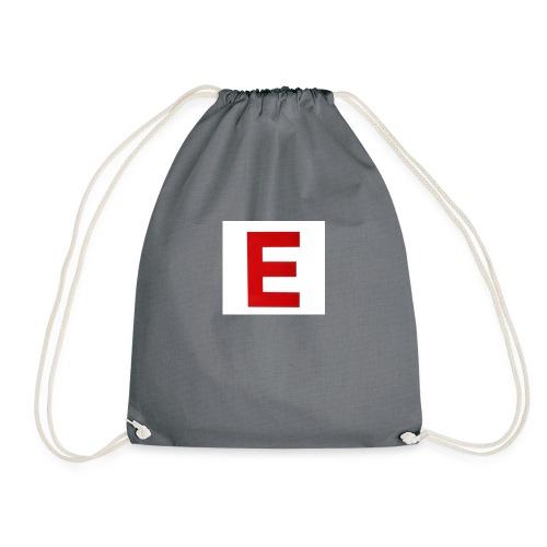 Itz Ethan Red Logo T-Shirt - Drawstring Bag