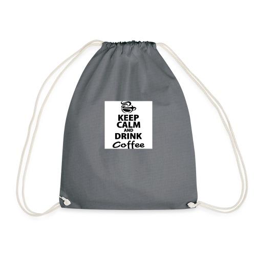 KEEP CALM COFFEE - Drawstring Bag