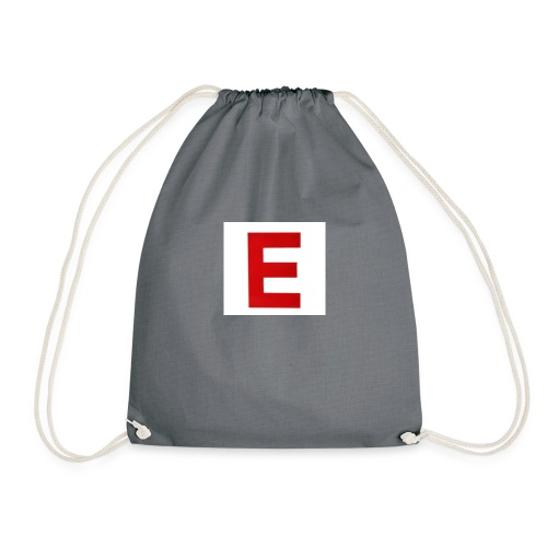 Itz Ethan Red Logo T-Shirt - Drawstring Bag