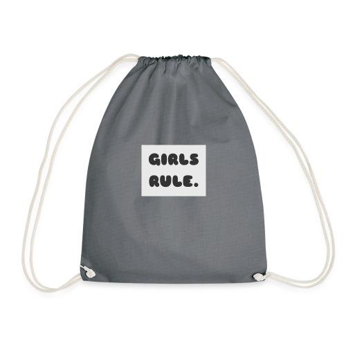 Girls Rule - Drawstring Bag