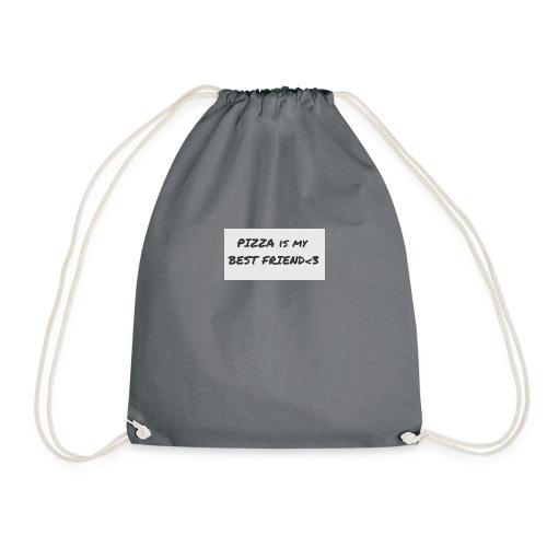 'Pizza is my Best Friend' - Drawstring Bag