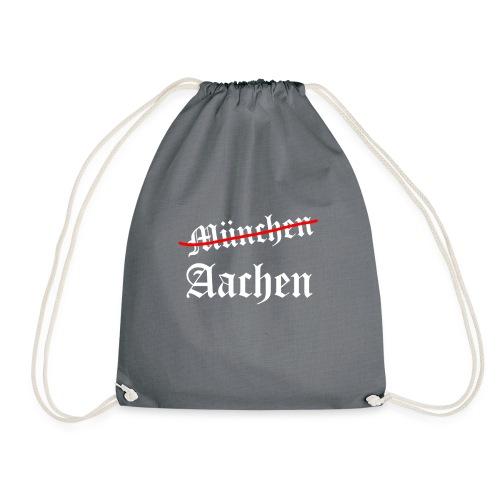 Aachen TOP, München FLOP - Drawstring Bag