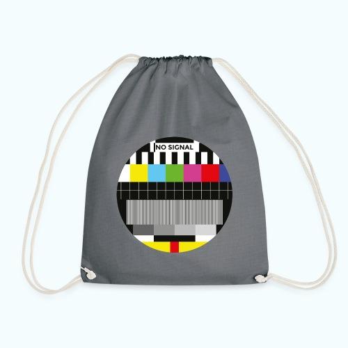 Vintage test pattern - Drawstring Bag