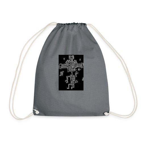 The Dancing Maya - Drawstring Bag