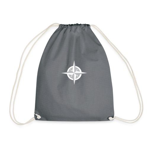 Compass Heart - Drawstring Bag